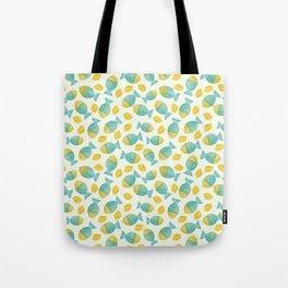 Fish and Lemons Tote Bag