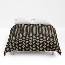 Pattern with stars 1 Comforters