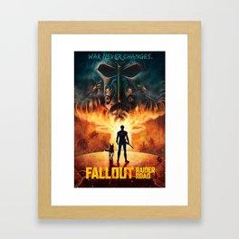 FALL OUT: RAIDER ROAD VARIANT Framed Art Print