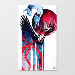 The Devil Wears Tiaras Canvas Print