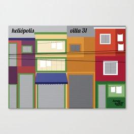 Heliópolis x Villa 31 Canvas Print