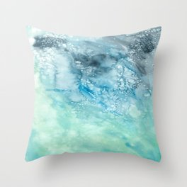 Watercolor Design  Throw Pillow