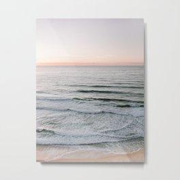 Endless ocean | Ericeira beach photography print Portugal | Wanderlust sea wall art Metal Print