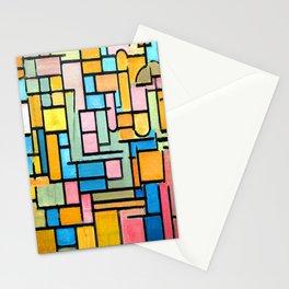 Piet Mondrian Tableau III Stationery Cards