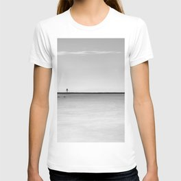 Palms beach and lifeguard towers T-shirt
