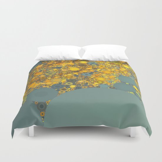 Sunshine and Clouds Duvet Cover