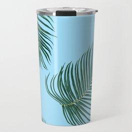 MIAMI PalmTree Leaves Travel Mug
