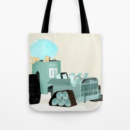 Karen form Chicks & Wheels Tote Bag