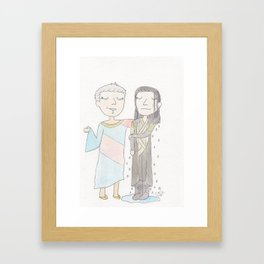 I Think You're Really Gonna Like It Here Framed Art Print