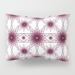 Double Pentagrams Pillow Sham