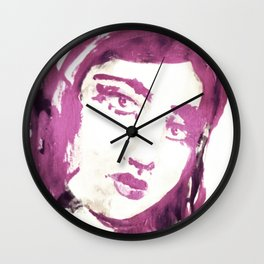 Portrait 114 Wall Clock
