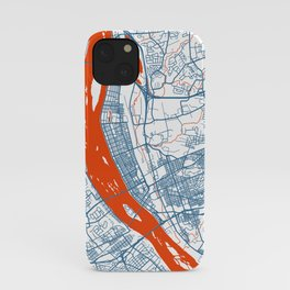 HARRISBURG Map - Pennsylvania | White + Colors, Review My Collections iPhone Case