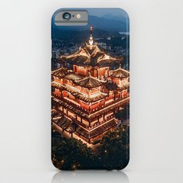 painting of Hangzhou China  iPhone Case