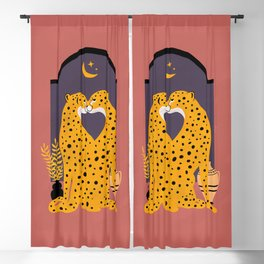 I would never Cheetah on you Blackout Curtain