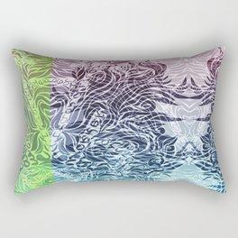 Soft Lines(PBG) Rectangular Pillow