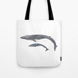 Fin whale Tote Bag