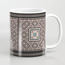 National classic abstract pattern retro print Coffee Mug