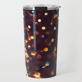 Coffee Bookeh Travel Mug