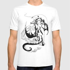 A Dragon from your Subconscious Mind #12 Mens Fitted Tee White MEDIUM