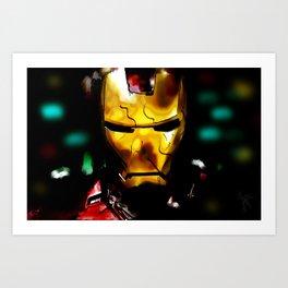 Ironman portrait Art Print