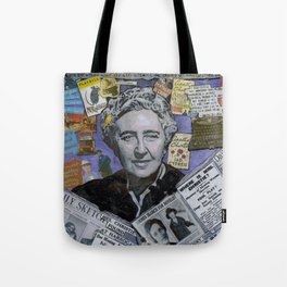 Agatha Christie's Disappearance Tote Bag