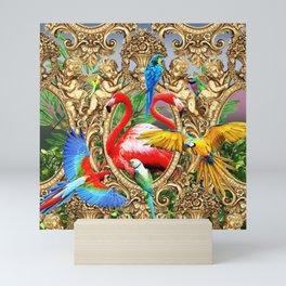 Bird Brain Rococo Mini Art Print