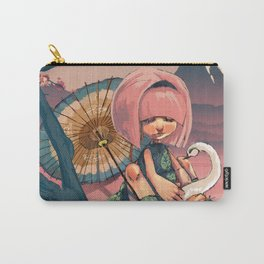 SUSHI SWAN Carry-All Pouch