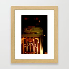 Up In Smoke Framed Art Print