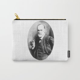 Sigmund Freud (Pen Pointillism) Carry-All Pouch