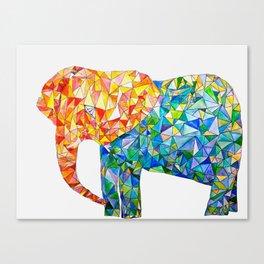 acute elephant Canvas Print