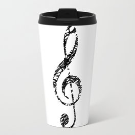 Scribble sol key Travel Mug
