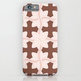 Doodle Seashell Pattern iPhone Case
