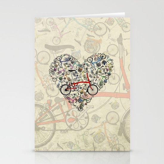 I Love Brompton Bikes Stationery Cards