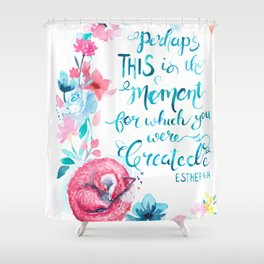 This Moment Shower Curtain