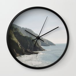 Cape Perpetua - Oregon Coastline Wall Clock