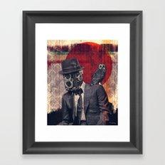 The Photographer Framed Art Print
