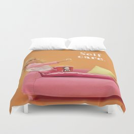 Real self care Duvet Cover