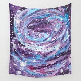 Galaxy of Spirals Wall Tapestry