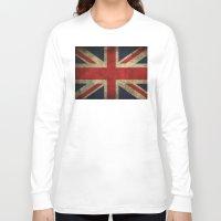 union jack Long Sleeve T-shirts featuring Union Jack by Bethan Eastwood