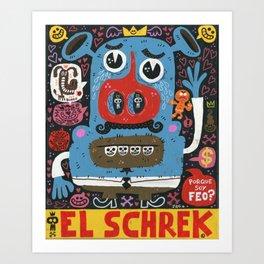 El Feo Art Print