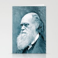 darwin Stationery Cards featuring Charles Darwin by Zandonai