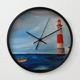 Beachy Head Lighthouse Wall Clock