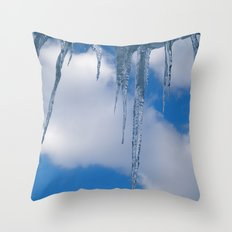 Frozen (for devices) Throw Pillow