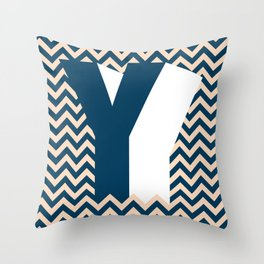 Y. Throw Pillow
