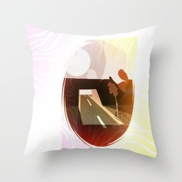 how fragile we  are Throw Pillow