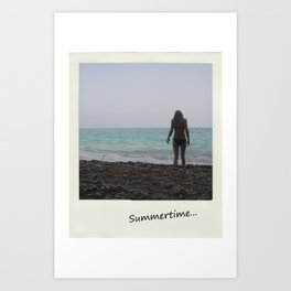 Summertime... Art Print