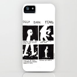 Deep Dark Fears 47 iPhone Case