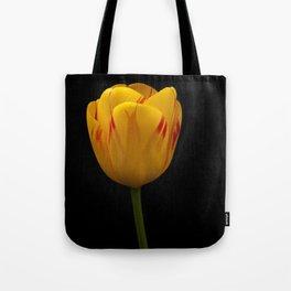 A Flaming Tulip Tote Bag