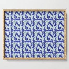 Bunny love - Blueberry edition Serving Tray