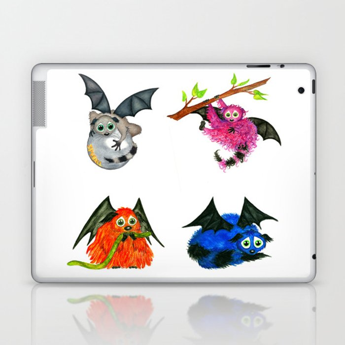 Iggy through the Pages Laptop & iPad Skin